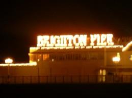 Brighton Peir at night